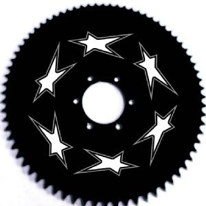 CNC ENGRAVED REAR SPROCKET Image